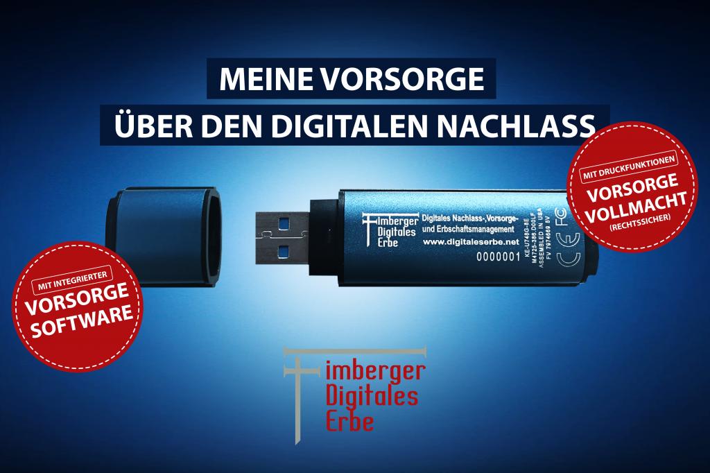DLHStick, verschlüsselter USB Stick, Vorsorge
